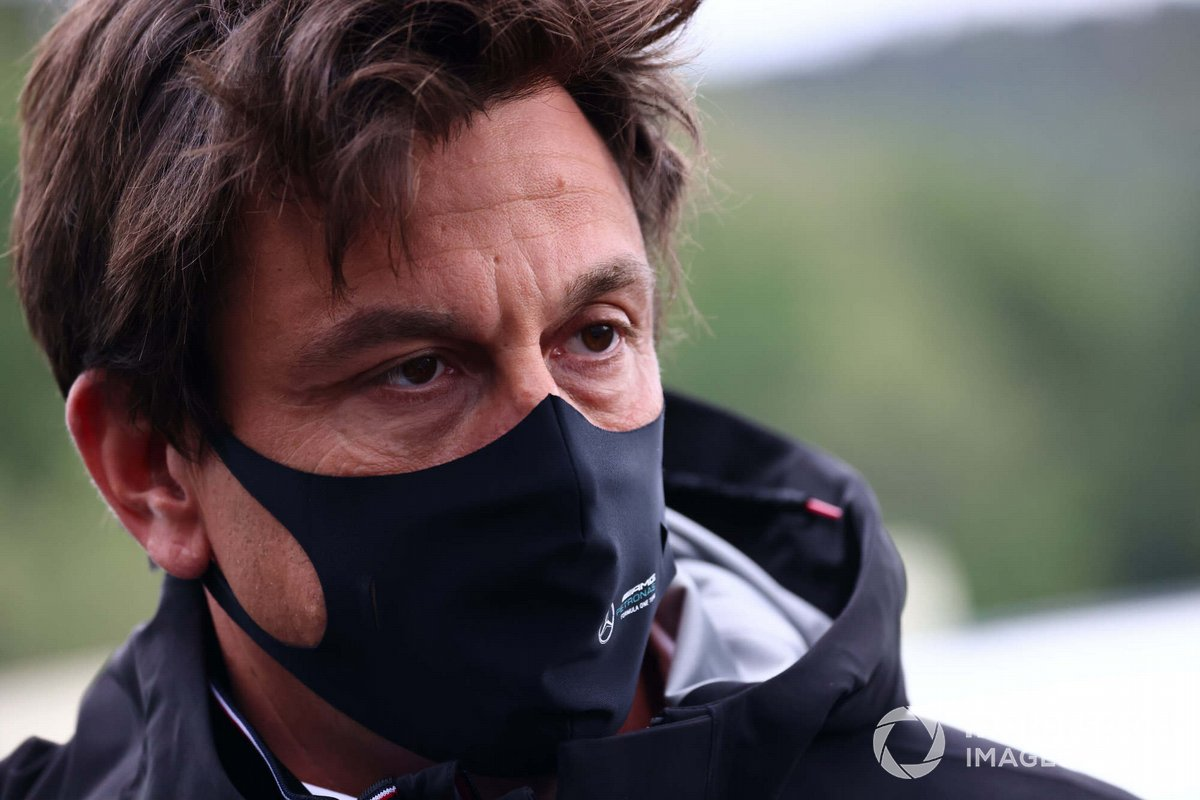Toto Wolff, director general y jefe de equipo de Mercedes AMG