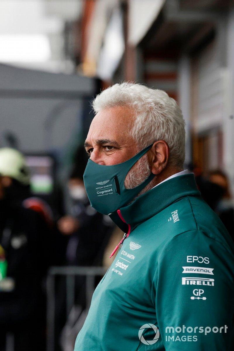 Lawrence Stroll, propietario de Aston Martin F1