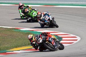 Samuele Cavalieri, TPR Team Pedercini Racing, Jonas Folger, Bonovo MGM Racing