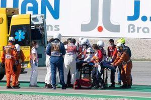 Caída de Tom Sykes, BMW Motorrad WorldSBK Team