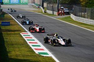 Theo Pourchaire, ART GrPrix, Oscar Piastri, Prema Racing, Guanyu Zhou, Uni-Virtuosi Racing