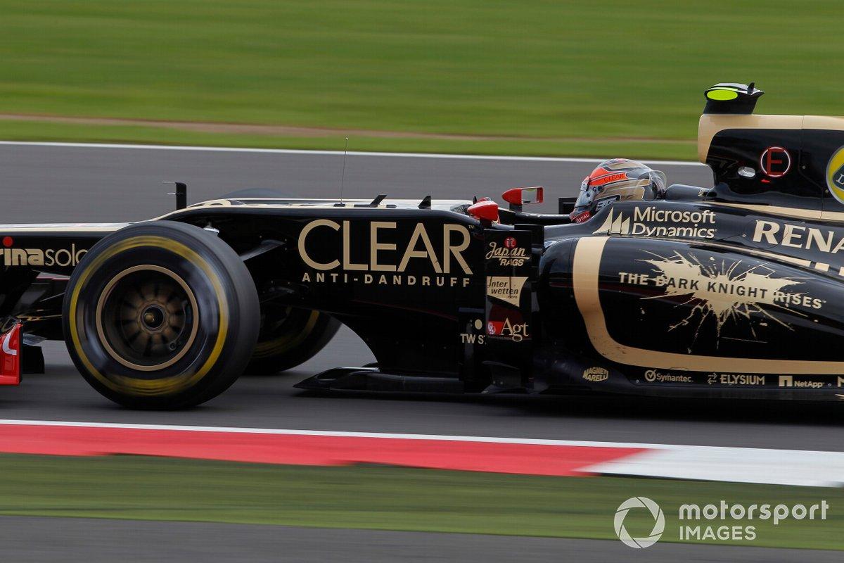 Lotus et Batman, GP de Grande-Bretagne 2012