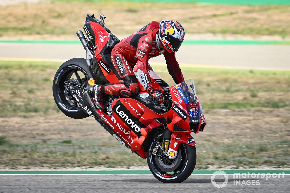 Jack Miller, Ducati Team, Stoppie