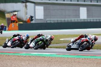 Tom Sykes, BMW Motorrad WorldSBK Team, Jonathan Rea, Kawasaki Racing Team, Toprak Razgatlioglu, Turkish Puccetti Racing