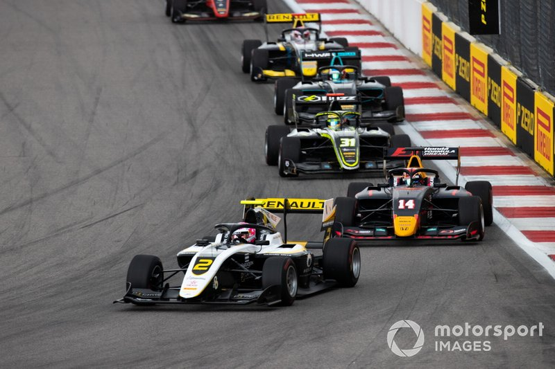 Max Fewtrell, ART Grand Prix e Yuki Tsunoda, Jenzer Motorsport