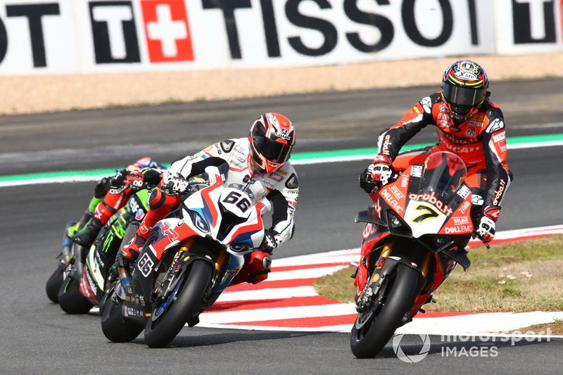 Chaz Davies, Aruba.it Racing-Ducati Team, Tom Sykes, BMW Motorrad WorldSBK Team, Jonathan Rea, Kawasaki Racing Team