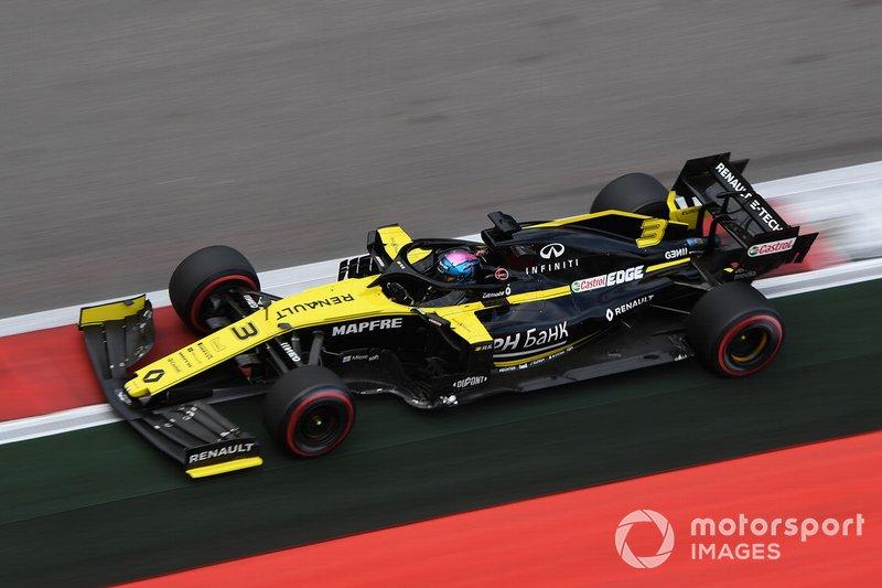 Abandonou: Daniel Ricciardo, Renault F1 Team R.S.19