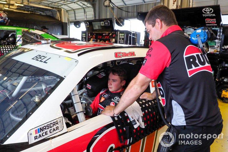 Christopher Bell, Joe Gibbs Racing, Toyota Supra Ruud