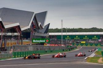 Juri Vips, Hitech Grand Prix, Jehan Daruvala, PREMA Racing, Marcus Armstrong, PREMA Racing