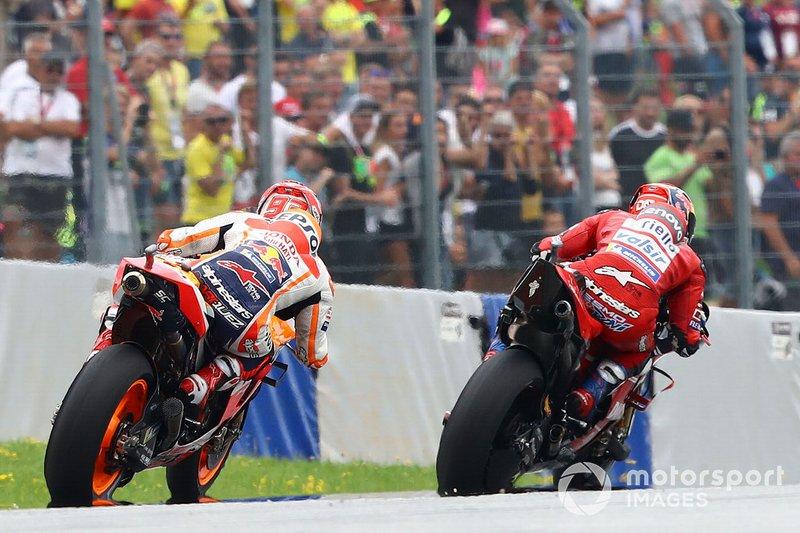 Marc Márquez, Repsol Honda Team, Andrea Dovizioso, Ducati Team