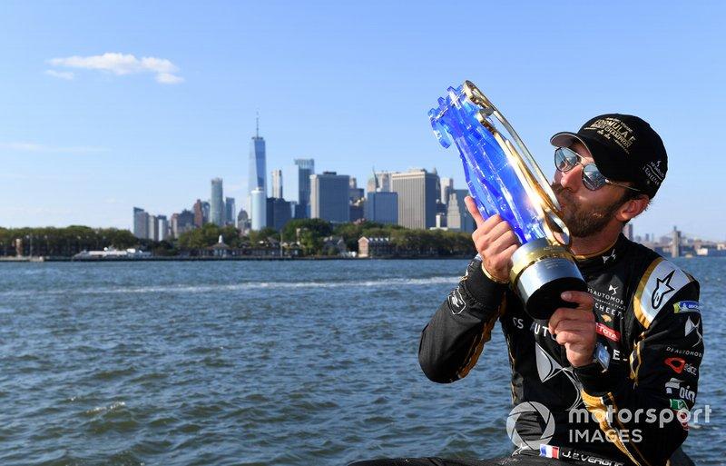Fórmula E, pilotos: Jean-Eric Vergne