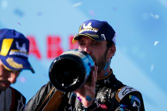 Championship winner Jean-Eric Vergne, DS TECHEETAH celebrates on the podium