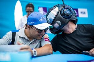 Felipe Massa, Venturi Formula E, the EJ at the autograph session