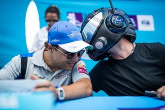 Felipe Massa, Venturi Formula E, the EJ at the autograph session