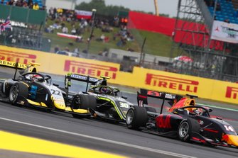 Yuki Tsunoda, Jenzer Motorsport, Felipe Drugovich, Carlin Buzz Racing en Ye Yifei, Hitech Grand Prix