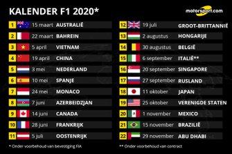 F1-kalender 2020
