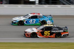 Matt DiBenedetto, Leavine Family Racing, Toyota Camry Procore Darrell Wallace Jr., Richard Petty Motorsports, Chevrolet Camaro Victory Junction