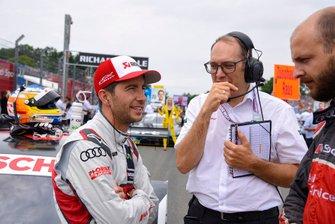 Mike Rockenfeller, Audi Sport Team Phoenix, in griglia di partenza