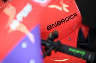 Tech3 E-Racing bike detail