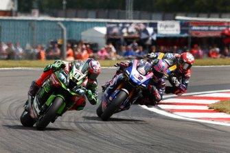 Leon Haslam, Kawasaki Racing Team, Alex Lowes, Pata Yamaha, Loris Baz, Althea Racing