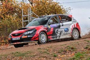 Kuba Greguła, Grzegorz Dachowski, Subaru Impreza WRX STI N15