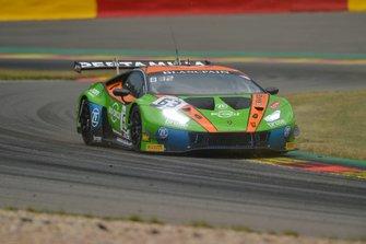 #63 GRT Grasser Racing Team Lamborghini Huracan GT3 2019: Mirko Bortolotti, Christian Engelhart, Rolf Ineichen