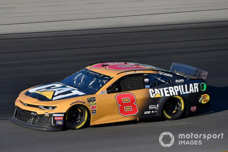 7. Daniel Hemric, Richard Childress Racing, Chevrolet Camaro
