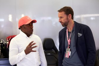 Anthony Hamilton talks to Gareth Southgate