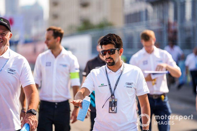 Ahmed Bin Khanen, Saudi Racing cammina sulla pista