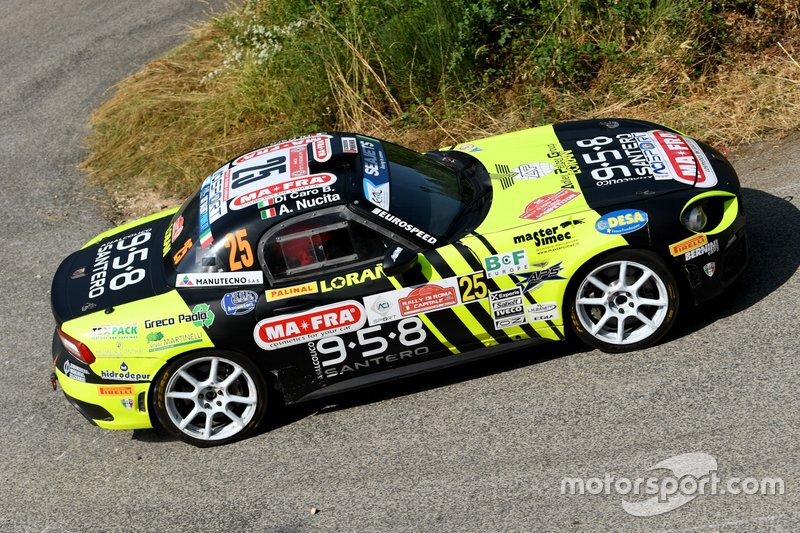 Andrea Nucita, Fernando Di Caro, Fiat Abarth 124 Rally, Eurospeed