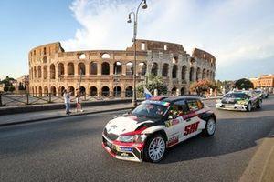 Gryazin Nikolay, Fedorov Yaroslav, Skoda Fabia R5, Rally di Roma Capitale, FIA ERC