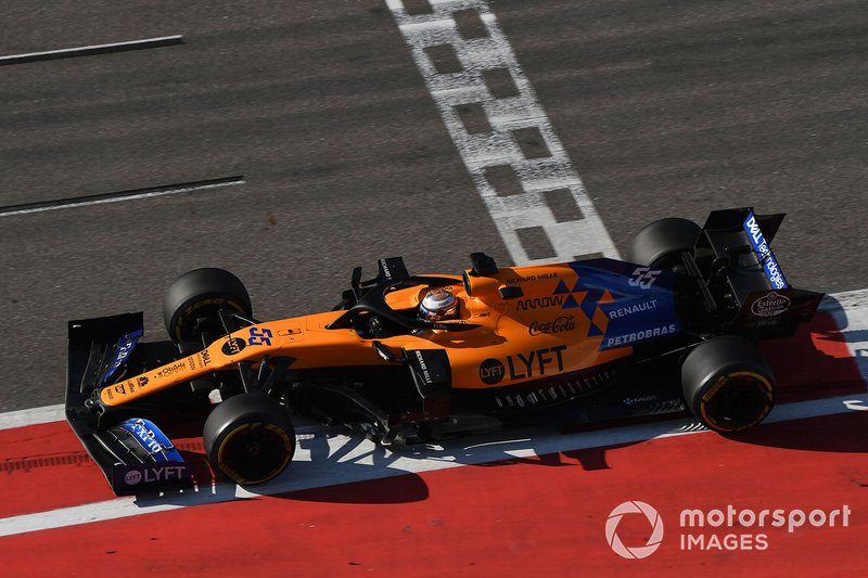 Otra gran carrera para Sainz