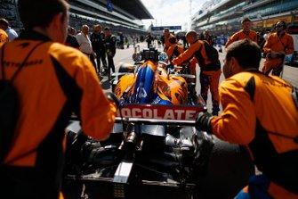 Carlos Sainz Jr., McLaren, op de grid