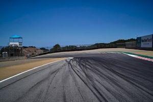 Corkscrew, empty track