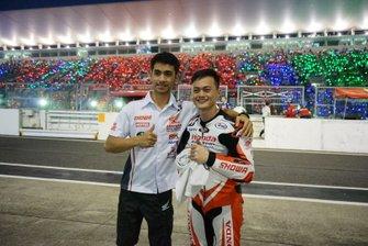 Andi Gilang, Zaqhwan Zaidi, Honda Asia-Dream Racing with SHOWA
