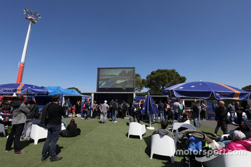 Fan Zone de las ELMS