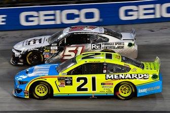 Paul Menard, Wood Brothers Racing, Ford Mustang Menards / Knauf and B.J. McLeod, Petty Ware Racing, Chevrolet Camaro Pinnacle Sports and Entertainment