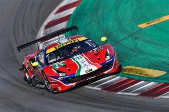 #71 AF Corse Ferrari 488 GTE Evo: Davide Rigon