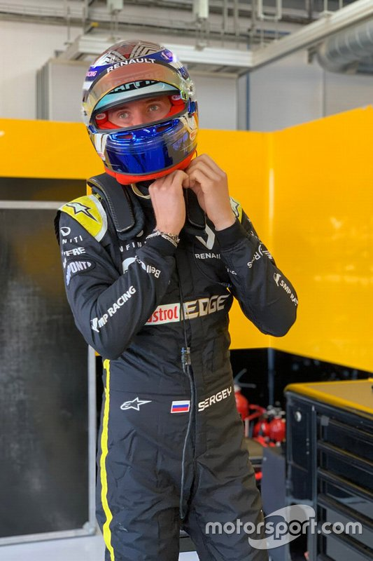 Сергей Сироткин, Renault Sport F1 Team