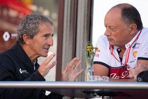 Советник Renault Sport F1 Team Ален Прост и руководитель Alfa Romeo Racing Фредерик Вассер