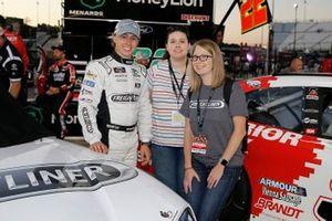 Brandon Jones, Joe Gibbs Racing, Toyota Supra Freightliner and guests