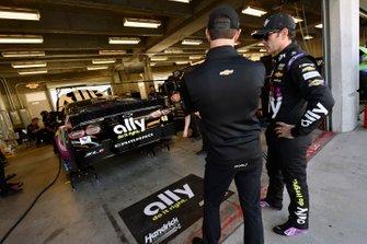 Jimmie Johnson, Hendrick Motorsports, Chevrolet Camaro Ally and Cliff Daniels