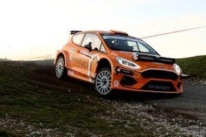 Simone Campedelli, Tania Canton, Orange1 Racing, Ford Fiesta R5