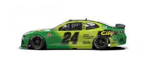 Throwback-Design: William Byron, Hendrick Motorsports, Chevrolet Camaro