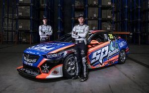 Todd Hazelwood and Jack Smith, Matt Stone Racing Holden ZB Commodore