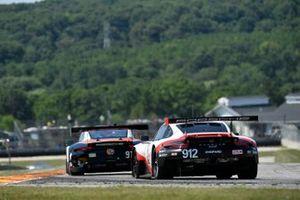 #912 Porsche GT Team Porsche 911 RSR, GTLM: Earl Bamber, Laurens Vanthoor, #911 Porsche GT Team Porsche 911 RSR, GTLM: Patrick Pilet, Nick Tandy