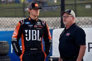 Todd Gilliland, Kyle Busch Motorsports, Toyota Tundra JBL/SiriusXM and Wes Ward