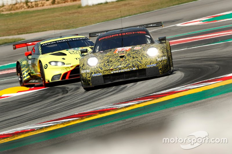 #57 Team Project 1 Porsche 911 RSR: Patrick Lindsey