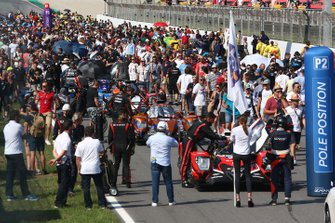 Fans of the starting grid