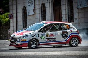 Patrizia Perosino, Veronica Verzoletto, Peugeot 208 R2, Winners Rally Team